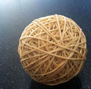 Cutting through an elastic band ball is the trippiest thing you'll see today Balls and Bands