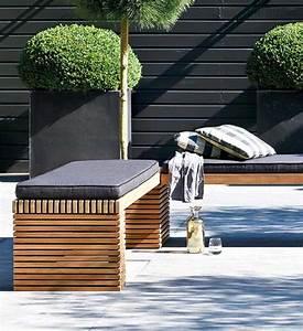 Gartenbank Ohne Lehne Holz : design gartenbank teak modulo 160 200 cm im greenbop online shop kaufen ~ Bigdaddyawards.com Haus und Dekorationen