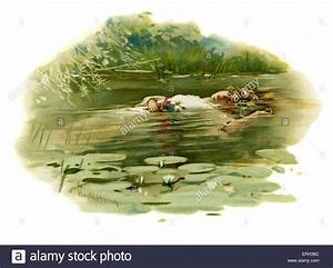 Ophelia drowning in Hamlet, Prince of Denmark by William ...
