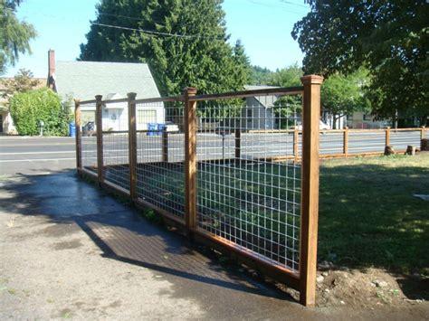 Hog Panel Fence » Fencing