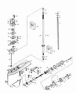 Chrysler 75 Hp  1982  Gear Housing Parts
