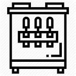 Icon Ice Machine Cream Maker Symbol Editor
