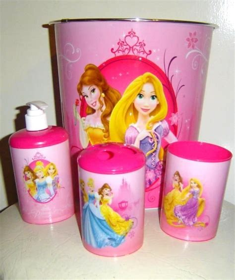 disney princess bath set 3 piece accessory set plus