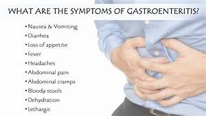 What Are the Symptoms of Gastroenteritis? | ZERODOTONE