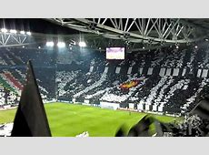 Coreografia JuventusReal Madrid Champions YouTube