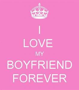 I LOVE MY BOYFRIEND FOREVER Poster   Ilma Carolina   Keep ...