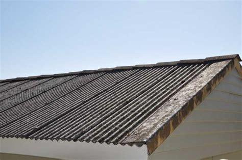 corrugated asbestos roof asbestos asbestos removal roof