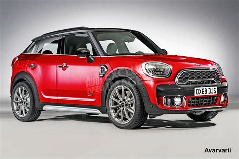 Bold Mini Countryman Coupe Suv On The Way