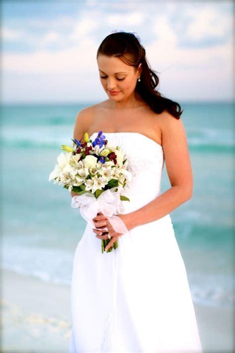 real destin beach weddings mindy  justin panama city