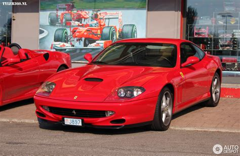 The ferrari maranello name refers to two models: Ferrari 550 Maranello - 19 August 2013 - Autogespot