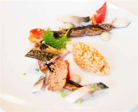 cuisiner maquereau maquereaux aubergines et risotto triomphe de liège le