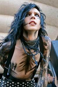 Pin by Samantha Bray on Andy biersack in 2020 | Black veil ...