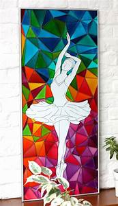 35, Amazing, Glass, Painting, Designs, And, Ideas, For, Wall, Hanging