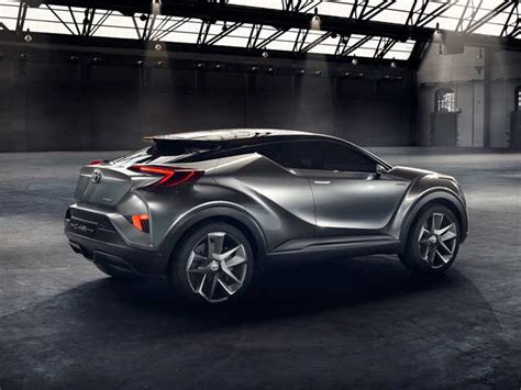 Toyota Chr Europe by Toyota C Hr Concept Crossover Cars Flow