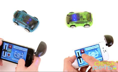 desk pets carbot carbot remote controlled cars work your smartphone