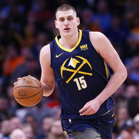 Nikola jokic center of the denver nuggets at 7'1 with 46 career triple doubles at the age of 25. Nikola Jokic, Basketball Player   Proballers