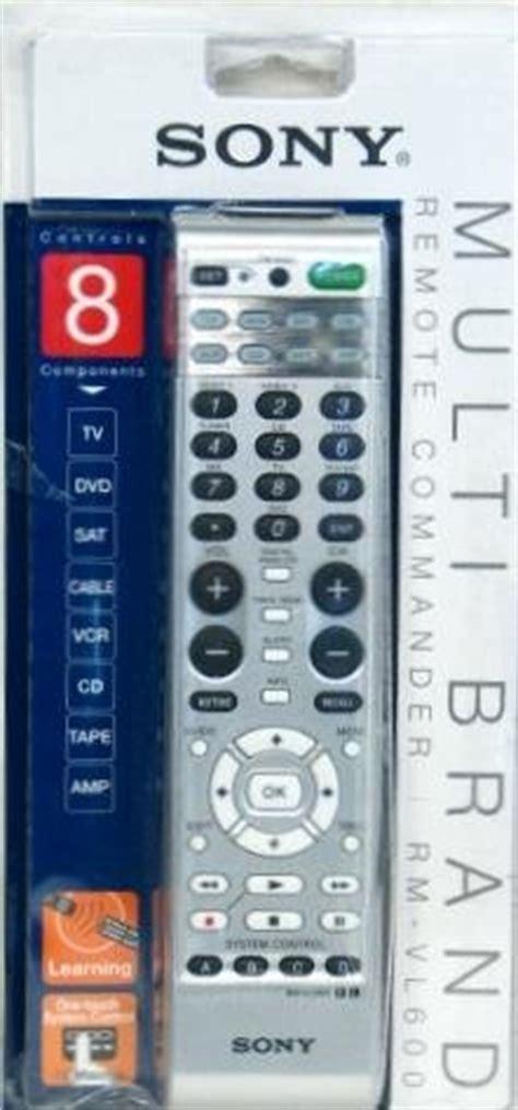 sony multi brand  function universal remote commander rm
