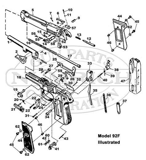 beretta fs parts parts list numrich