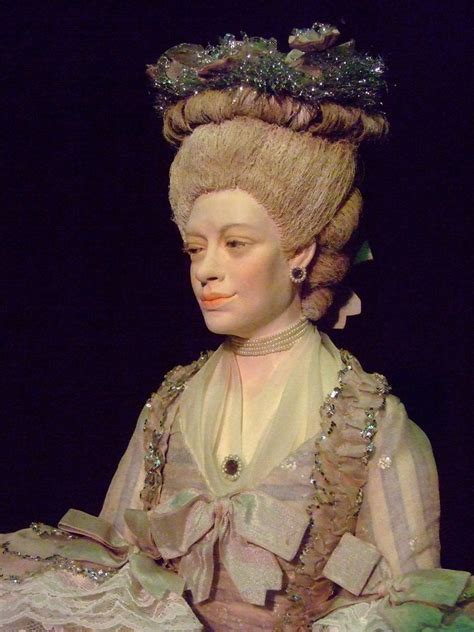 Historical Portrait Figure of Queen Charlotte Sophia by ar ...