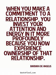 Love quotes - W... Cute Relationship Commitment Quotes