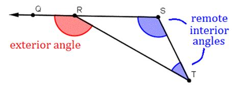 angle properties  triangles wyzant resources