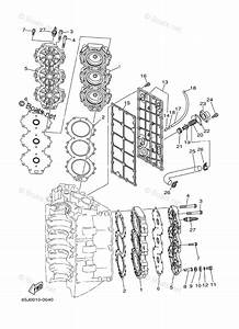 Yamaha Outboard Parts By Hp 200hp Oem Parts Diagram For