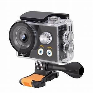 Waterproof Kids Camera HD 1080P Outdoor Underwater Cartoon Camera 140 Degrees 2G2P Lens ...