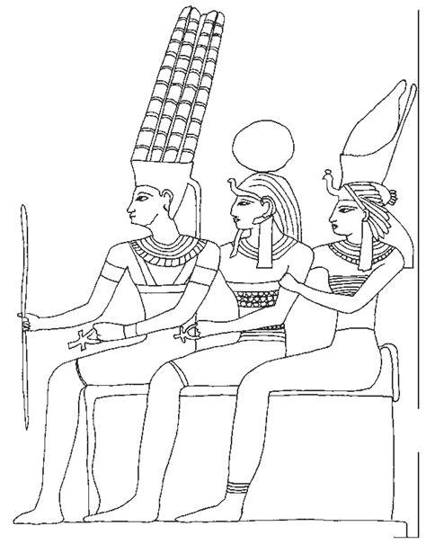 disegni da colorare disegni da colorare gli antichi egizi