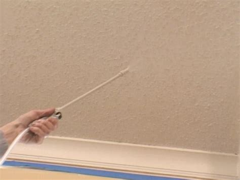 How To Remove A Popcorn Ceiling  Howtos Diy