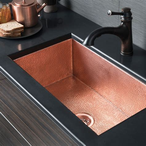 copper undermount kitchen sinks cocina 30 copper kitchen sink cpk293 trails 5807