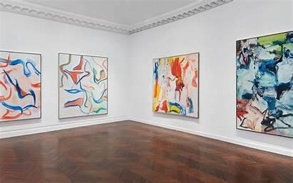 Kooning York Museum Shows Willem Mnuchin Installation