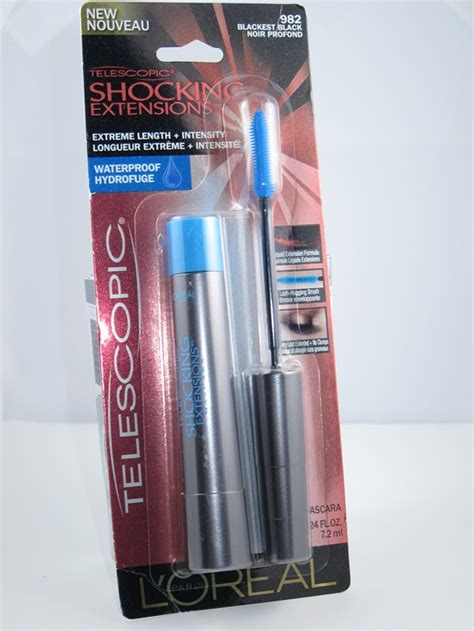 loreal telescopic shocking extensions mascara review