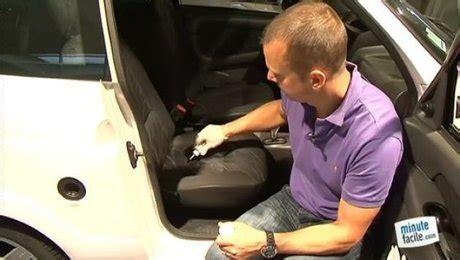 reparation siege voiture réparation du siège troué d 39 une voiture minutefacile com