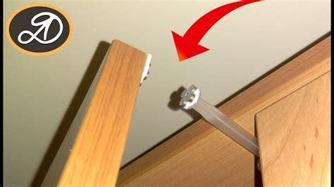 Shock absorber for furniture DIY. How to make cabinet door