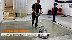 How to diamond grind a concrete floor youtube for How to grind on the floor