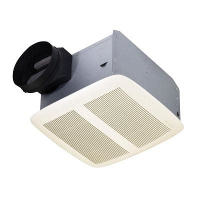 home depot bath fans nutone qtx series very quiet 110 cfm ceiling exhaust bath