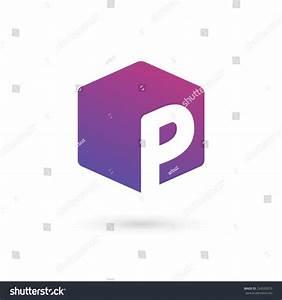 Letter P Cube Logo Icon Design Template Elements Stock ...