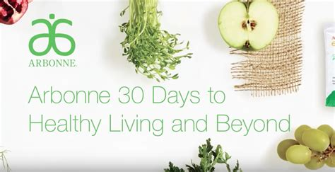 Arbonne 30 Days To Healthy Living Review  Momma Maven