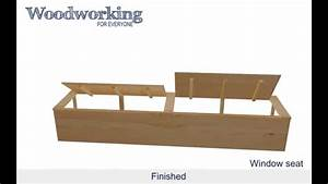 Woodworking for Everyone: Window Seat - YouTube