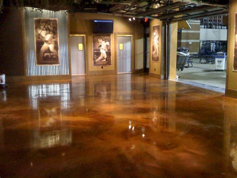 copper epoxy floor   floor finish for many commercial and