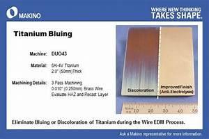 Wire EDM titanium ti 6AI-4V