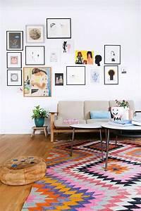 Bilder An Der Wand : 120 wohnzimmer wandgestaltung ideen ~ Lizthompson.info Haus und Dekorationen