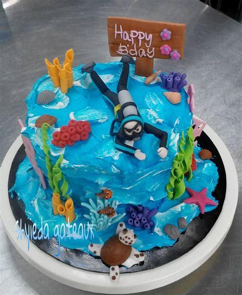 shyieda gateaux homemade melaka scuba diving cake