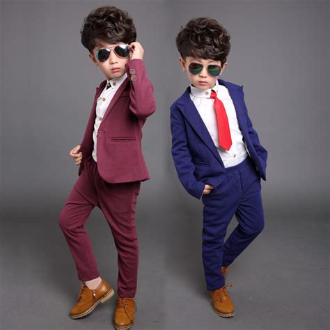 BEIBEI Children Suit Baby Boys Suits Kids Blazer Boys Formal Suit For Wedding Boys Clothes Set ...