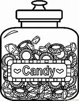 Caramelle Licorice Twizzlers Candyland Coloringpages101 Chucherias Tarros sketch template