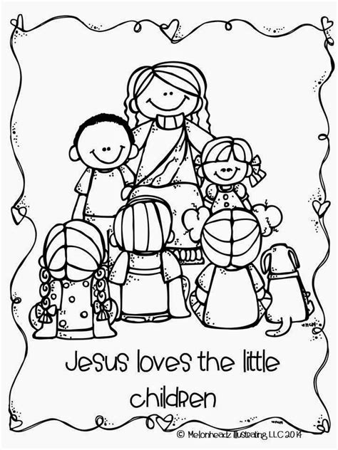 jesus loves  coloring page az coloring pages