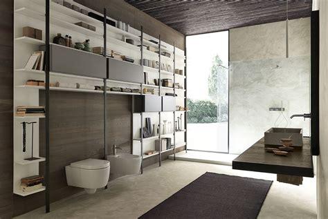 meuble de salle de bain suspendu en bois  cadre en fer