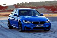 BMW Blue Car