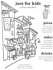 ae templates children kids menu template kids menu templates pinterest kid