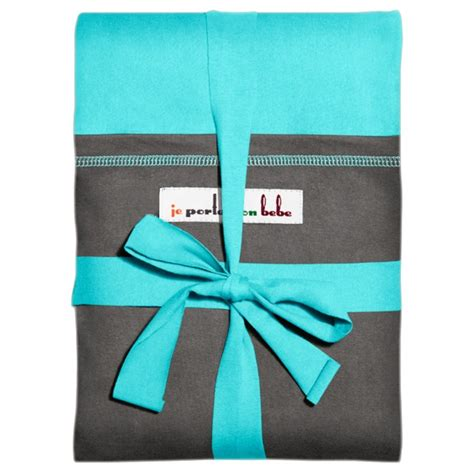 jpmbb originale echarpe turquoise poche el 233 phant naturiou